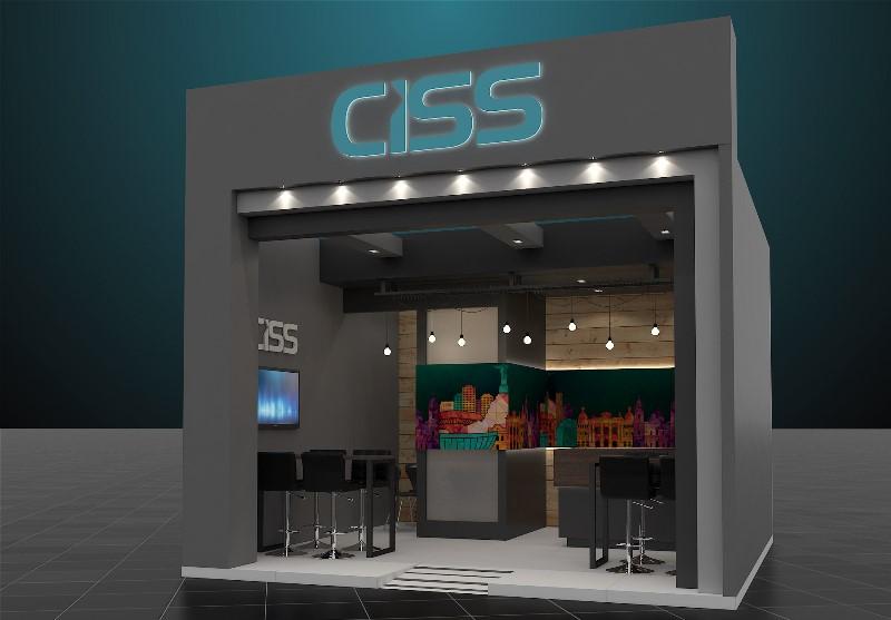 Preview do estande da CISS na EXPOAGAS 2016