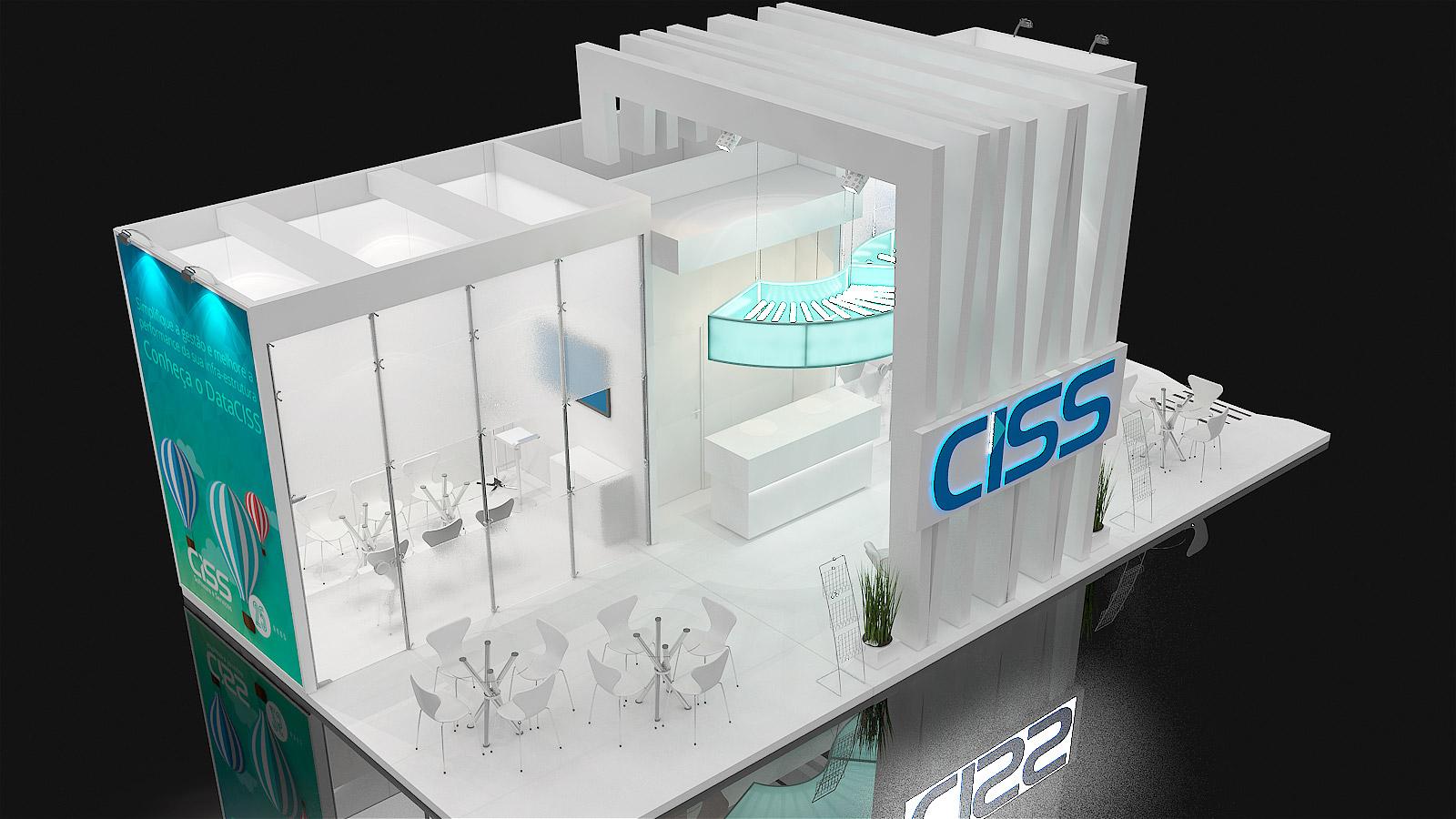 Preview do estande da CISS na APAS 2016