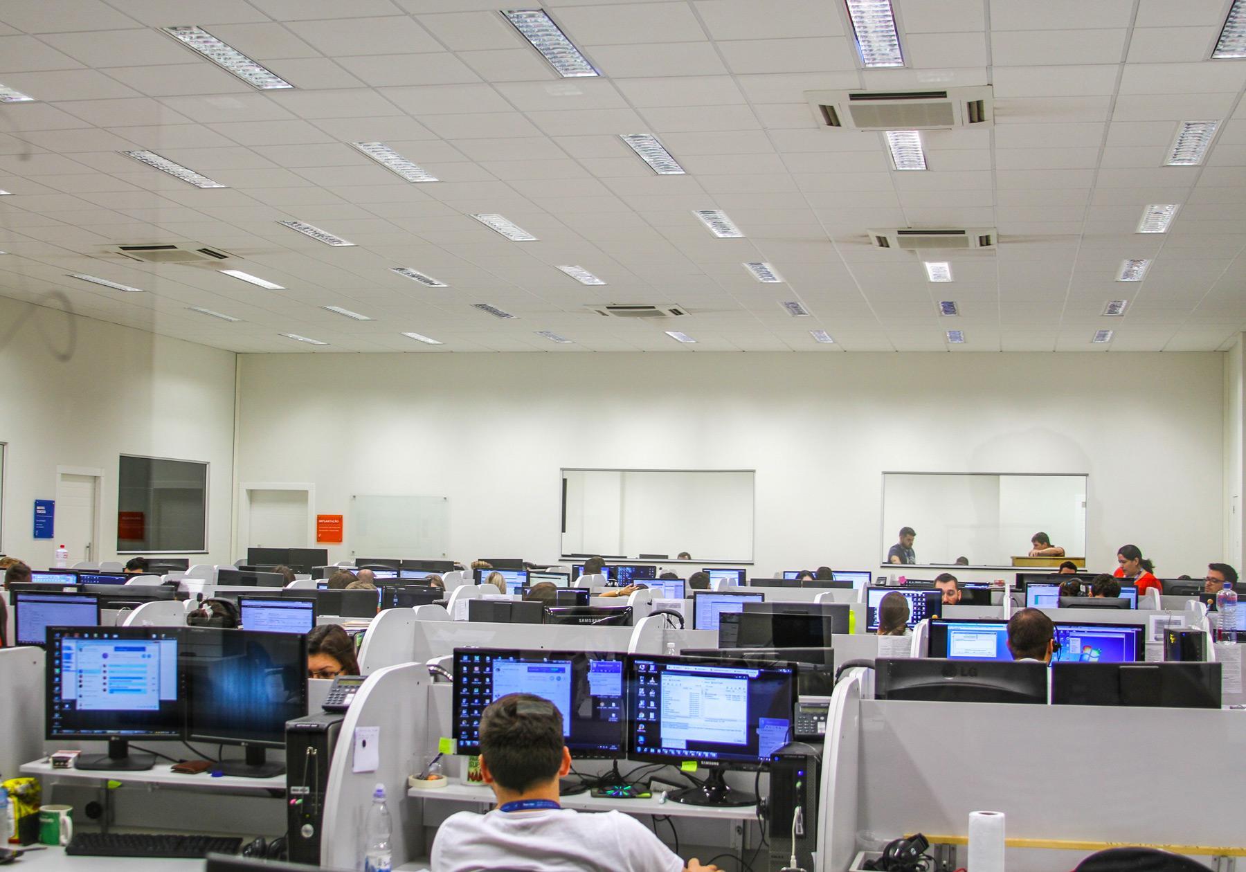 Central de Atendimento e Suporte da CISS Software e Serviços