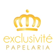 Logotipo do Cliente Exclusivité Papelaria