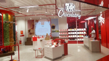Kitkat Chocolatory inaugura com sistema da CISS