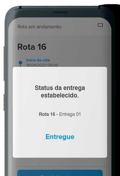 Print screen aplicativo CISSTrack