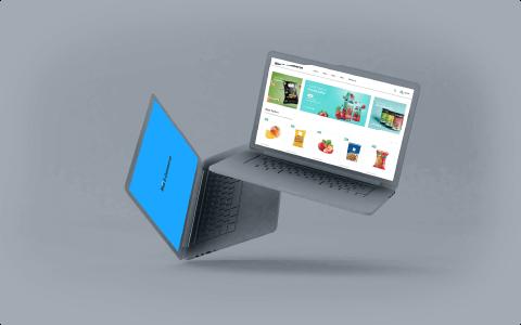 Mockup e-commerce